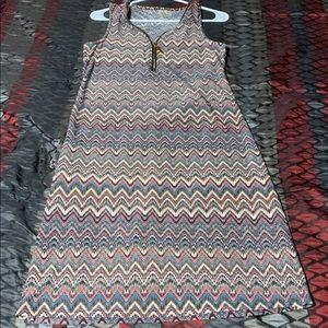 Tacera Sleeveless Dress